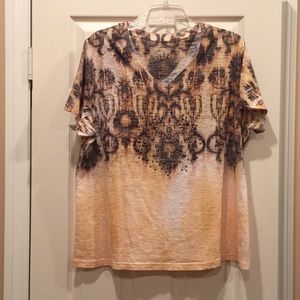 Lane Bryant sequined blouse